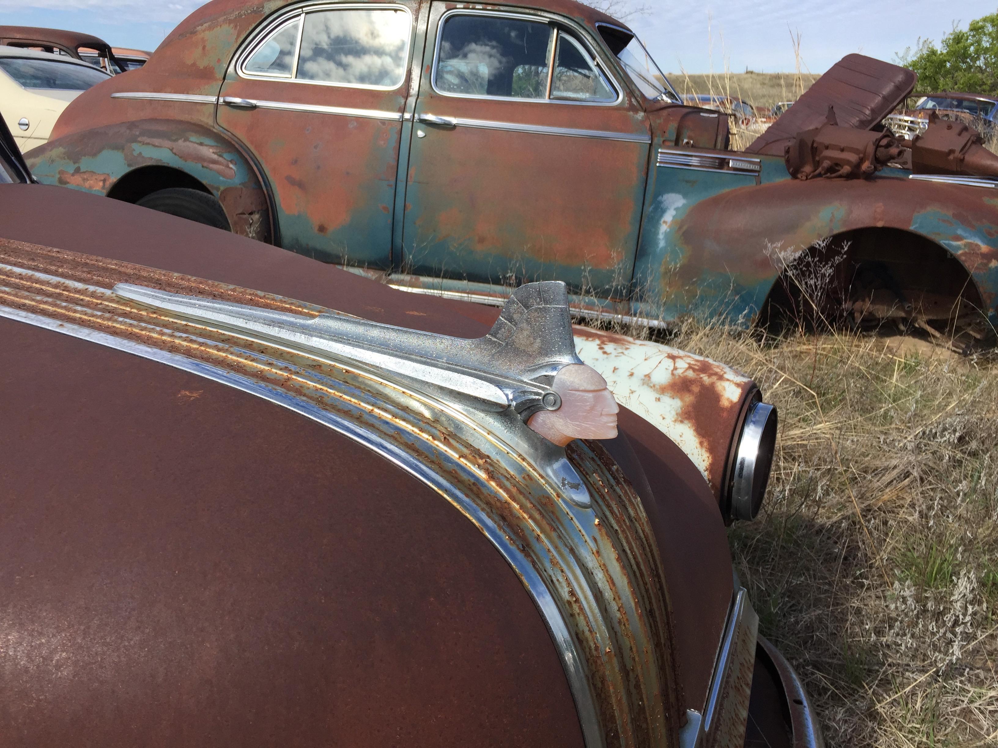 Old amaerican car